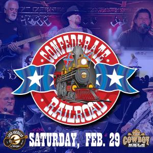 Confederate Railroad – Saturday, February 29