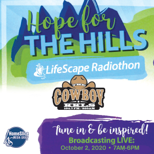 Lifescape Radiothon with The Cowboy!